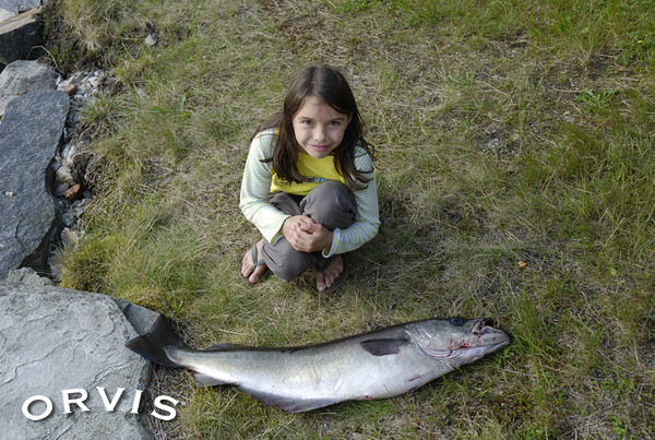 Orvis fly fishing contest little girl big catch flickr for Orvis fly fishing blog