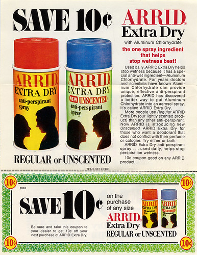Arrid Extra Dry Anti-Perspirant, 1969 | by Roadsidepictures