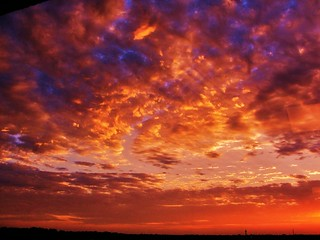Glorious sunset near chicago ! 2010. | by fotogjohnh!! Photostream.seen by milions!