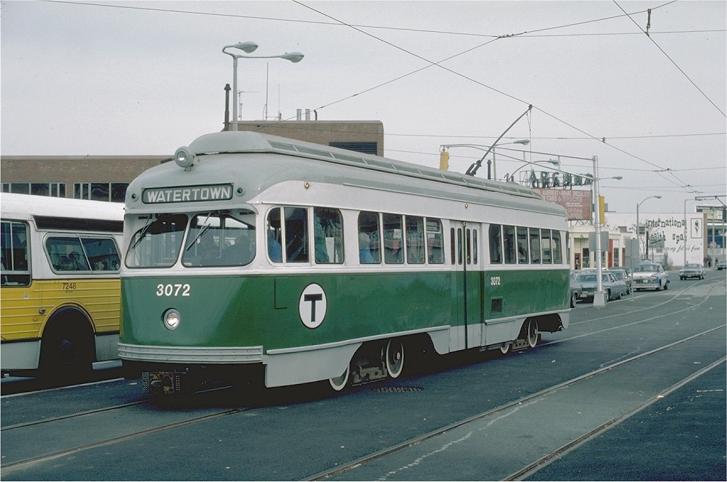 All Car Company >> MBTA Wartime PCC car 3072 on the Watertown Line | Gerald H. … | Flickr