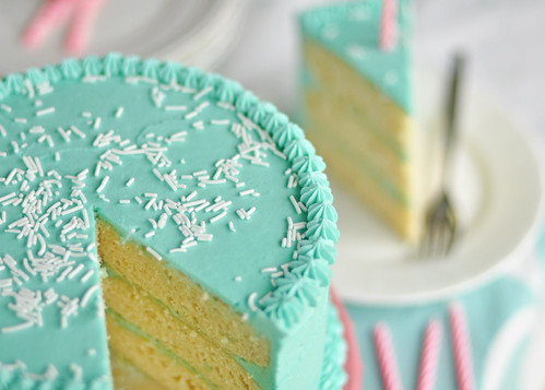 Birthday Cake Sliced | by Sweetapolita