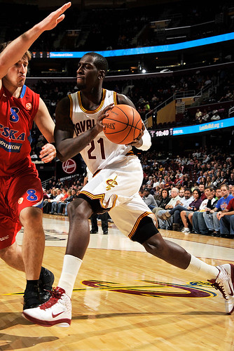 J.J. Hickson Drives | by Cavs History