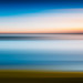 First Light, East Lothian, Abstract Seascape