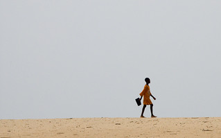 Young girl walks to school | by World Bank Photo Collection