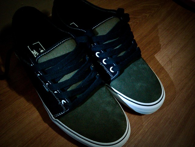 Vans Chukka Low Shoes Black