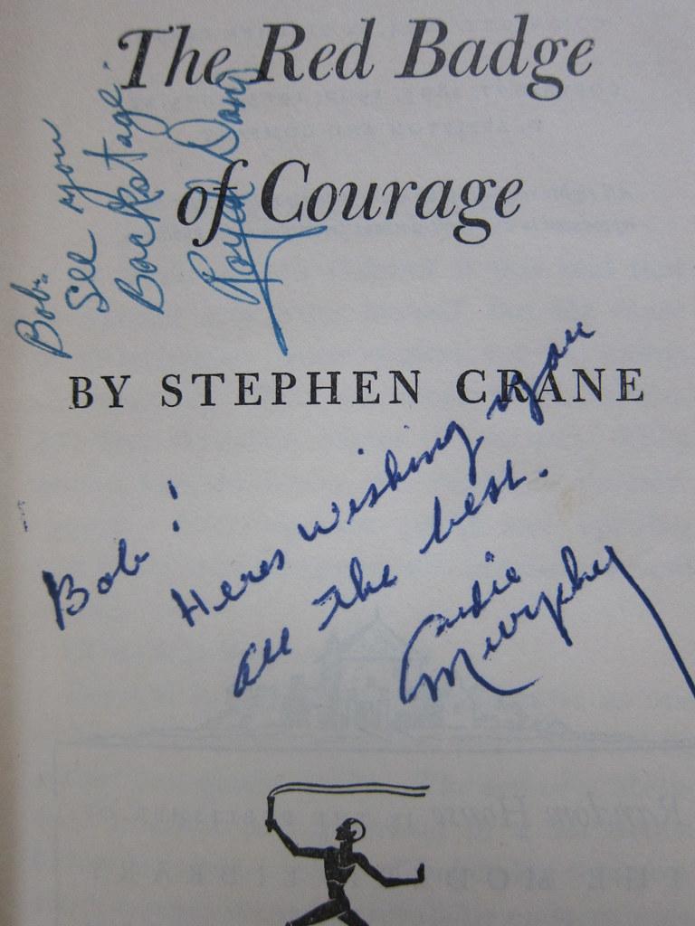 Royal Dano Audie Murphy Autographs Autographs Of Royal