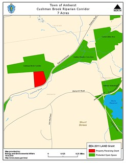 Amherst - Cushman Brook Corridor | by Massachusetts Energy and Environmental Affairs
