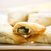 Spanakopita Triangles with Spinach & Vegan Feta Cheese