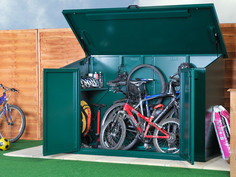 Outdoor Secure Bike Storage The Access Bike Store