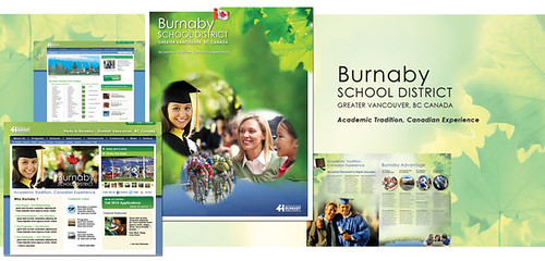 Burnaby School District: Burnaby School District Brand Experience