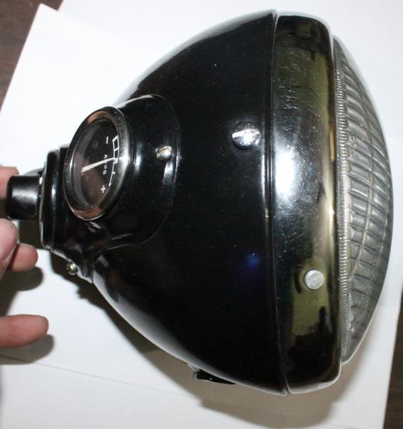 Vintage Auto Headlight Styles : Lucas british motorcycle replica headlight vintage auto
