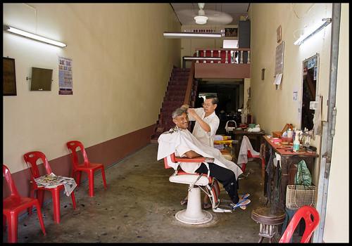Sri Takua Pa Barber!