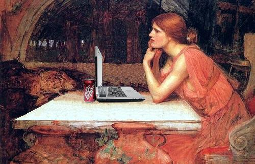 Circe Surfs the Web, after John William Waterhouse | by Mike Licht, NotionsCapital.com