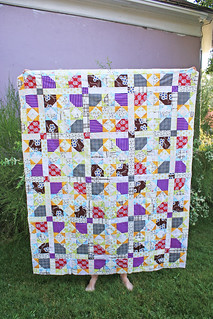 My mystery quilt along quilt top | by vintagefern