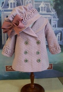 Earley 1900's Lavender  Reefer  Jacket  and hat | by Keepersdollyduds