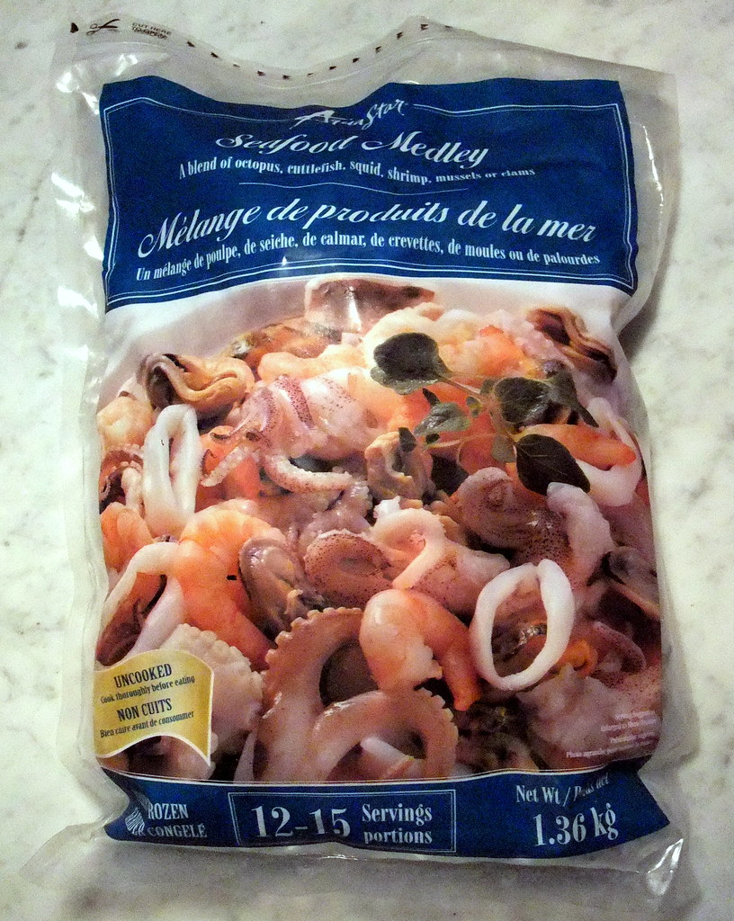 seafood medley m lange de produits de la mer costco flickr. Black Bedroom Furniture Sets. Home Design Ideas