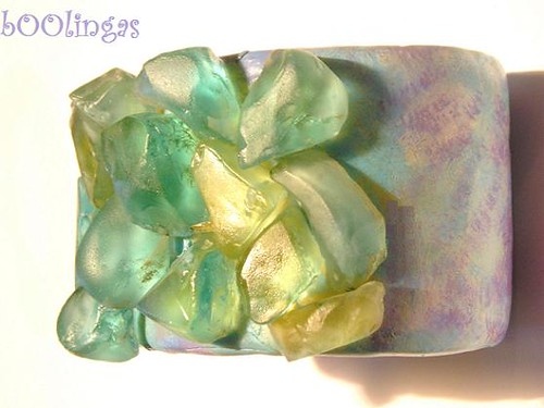 Under the sea - Clay Cuff Bracelet | by bOOlingas