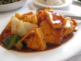 Sweet and Sour Tofu | by tofu_catgirl