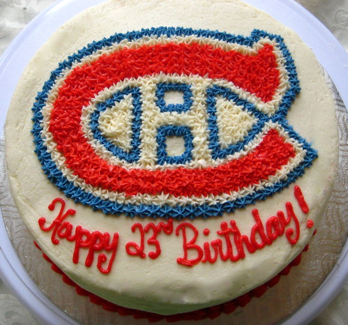Montreal Canadiens Cake Pan