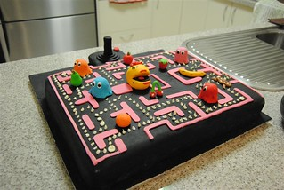 Ms Pac-Man Cake | by melonqueen