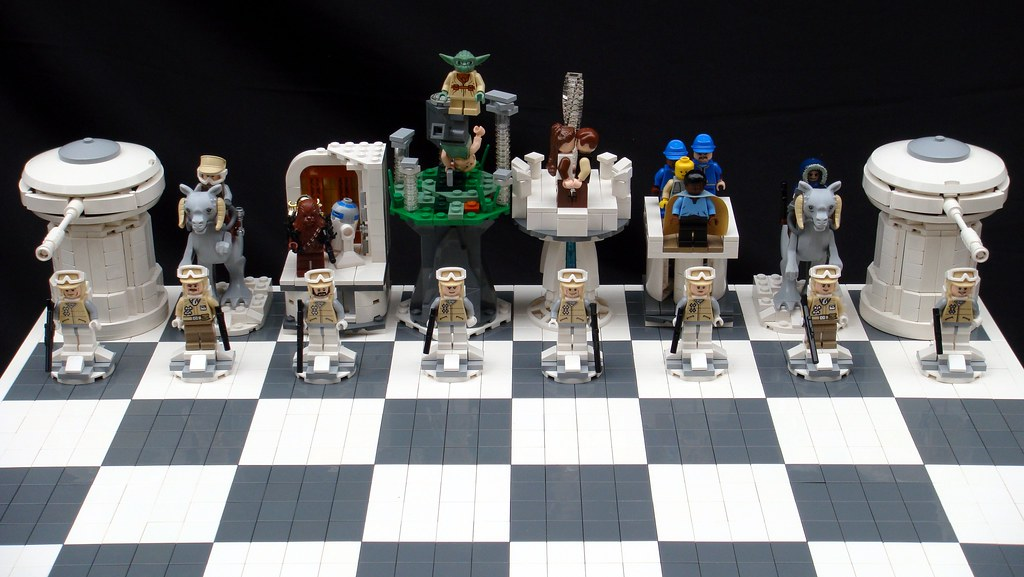 Star Wars: The Empire Strikes Back Lego Chess   Rebels   Brandon ...