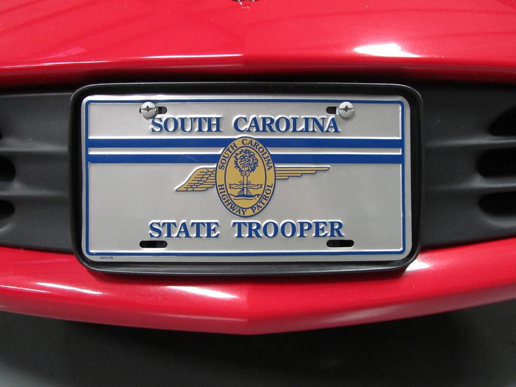 License Plate Camera >> Former South Carolina Highway Patrol - 1999 Chevrolet Cama… | Flickr