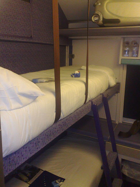 Scotrail Sleeper Cabin My Bed For The Night Night Nigh