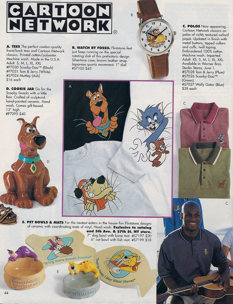 Warner Bros Studio Store Scooby Doo Catalog 1997 Flickr
