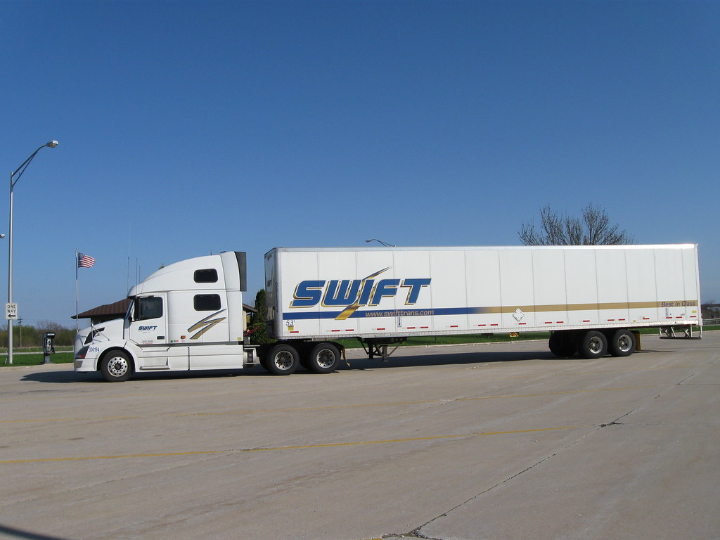 Swift Truck Taken At Texas Welcome Center On I 35 Just