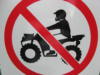 No ATV's | by Peter Blanchard