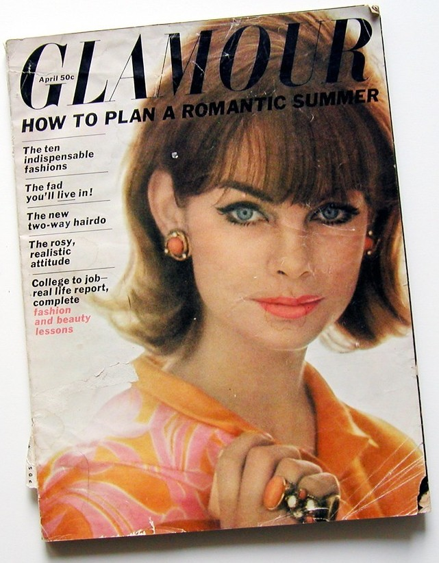 glamour magazine april 1963 glamour magazine cover model j flickr. Black Bedroom Furniture Sets. Home Design Ideas