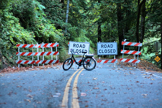 Road Closed | by Richard Masoner / Cyclelicious