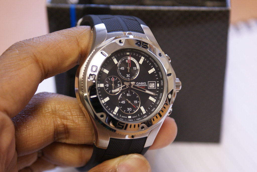 Casio Chronograph Gents Diver Watch Mtd 1057 1aves Flickr