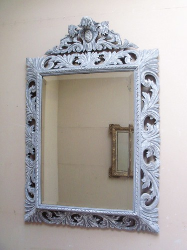 Hand Carved French Antique Mirror | by frenchfinds.co.uk