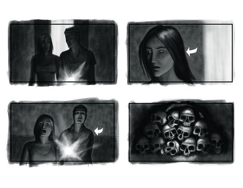 horror movie storyboard 02 | by j.albright