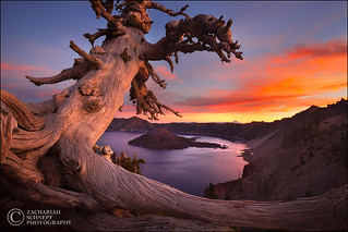 Crater Lake Sunset | by Zack Schnepf