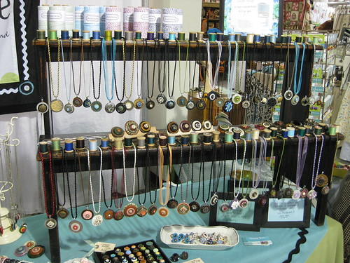 Whimsy House TCC Booth (7) Necklace Display | Necklace ...