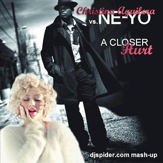 Ne-Yo vs. Christina Aguilera - A Closer Hurt | by djspideruk