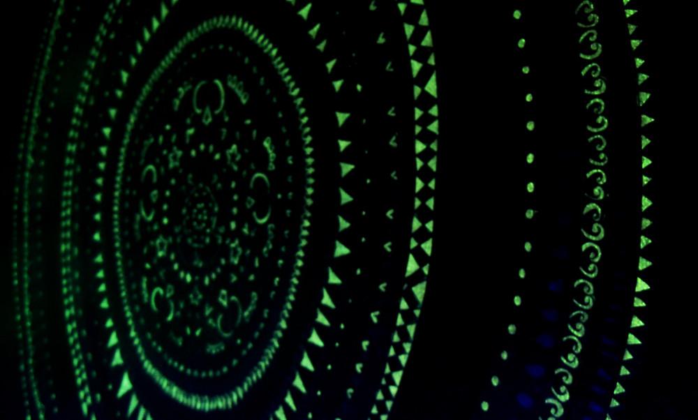 ... Glow In The Dark Mural | By Eyepopart