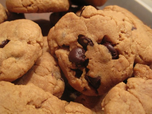 Peanut Butter Chocolate Chip Cookies | by isachandra