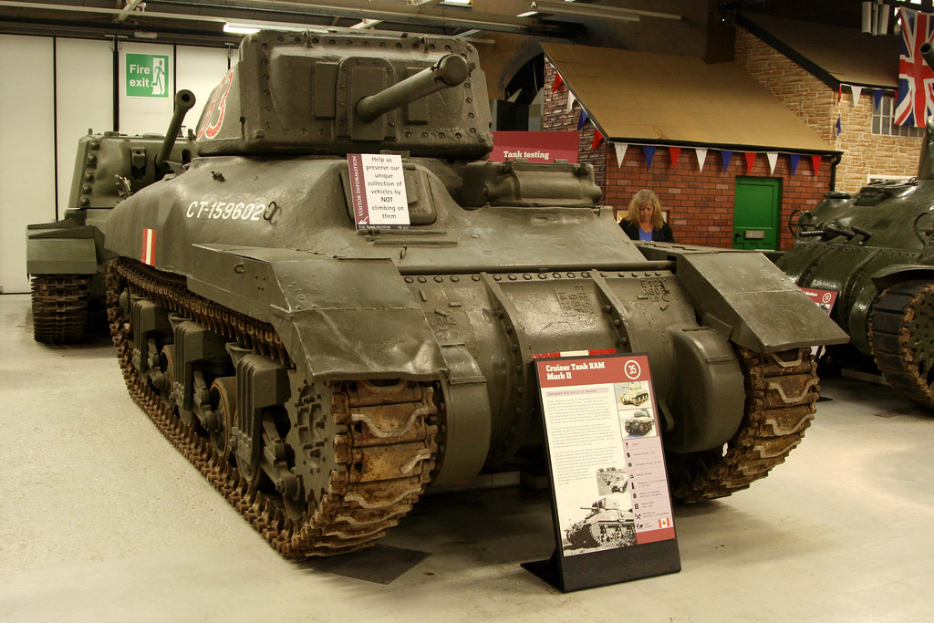 The Tank Museum Bovington Ww2 1942 Canadian Cruiser Tan