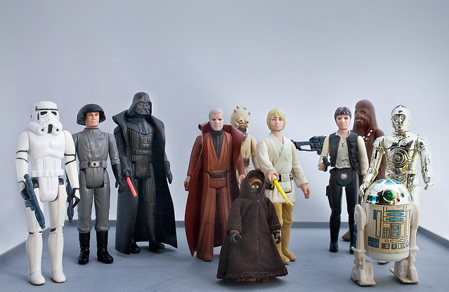 Original Star Wars Toys : Star wars original figures group flickr photo sharing