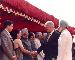 President Clinton visits India | by U.S. Embassy New Delhi