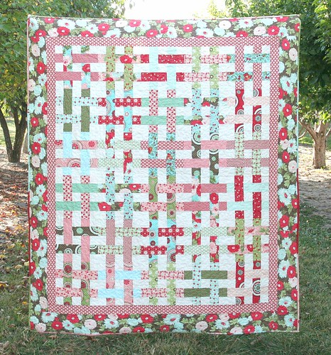 Basket Case Quilt | by cluckclucksew