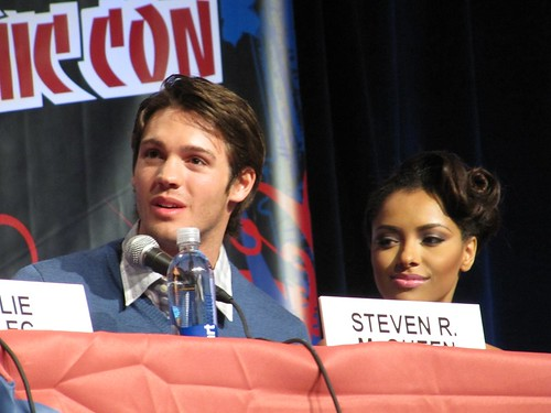 Steven R. McQueen & Katerina Graham @ NYCC | Photo by ...