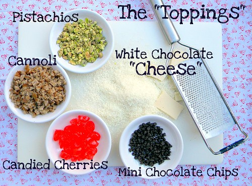 The Toppings and Cheese for my Dessert Pizza. | by CinnamonKitchn