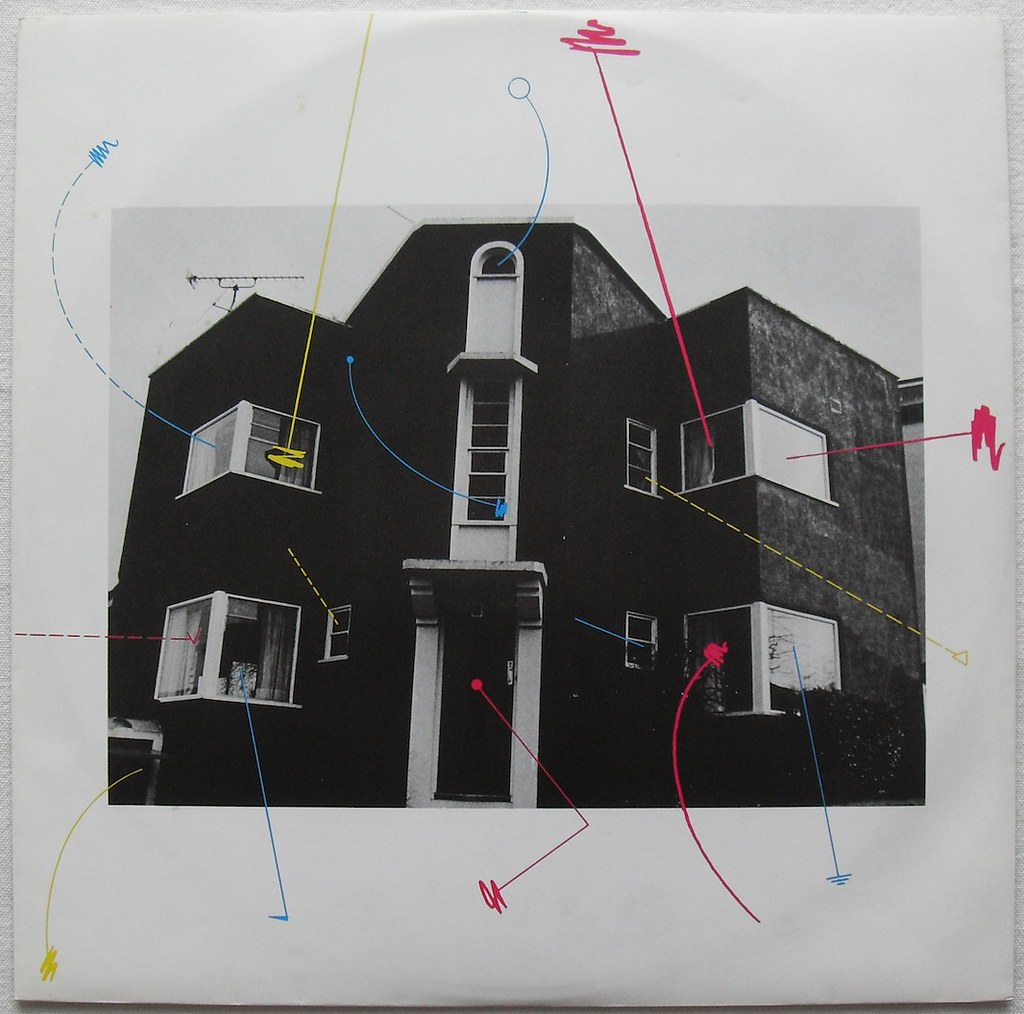 The Cure 1979 Three Imaginary Boys Vinyl Record Album Lp C