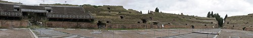 Puteoli Pozzuoli fish-eye 270 degree view of Flavian amphitheatre with some modern seating | by Ahala