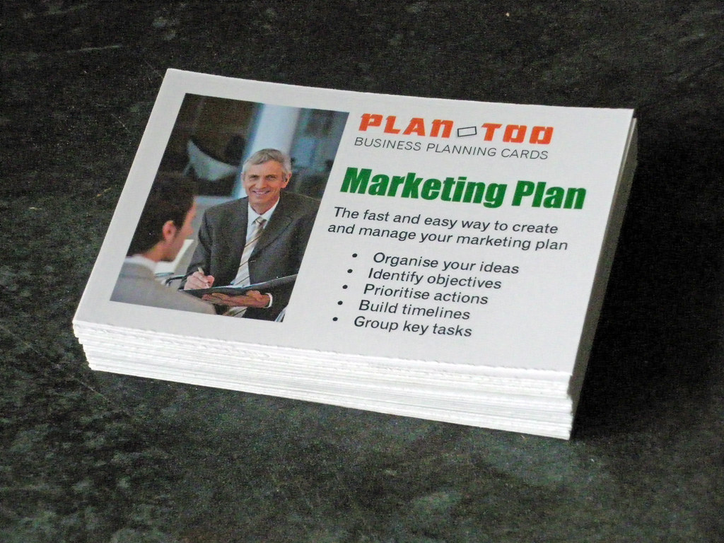 Marketing planning cards | Marketing planning cards from Pla… | Flickr