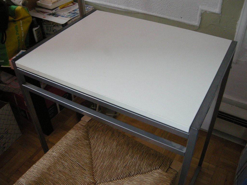 Ikea muddus drop leaf table salebushwick flickr - Mesa muddus ikea ...